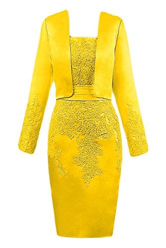 TOSKANA BRAUT - Vestido - Noche - para mujer dorado