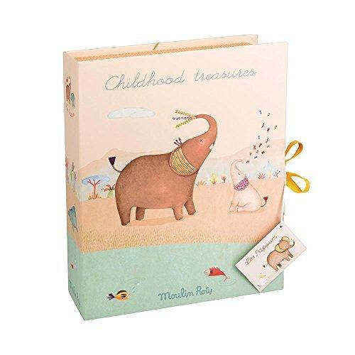Moulin Roty Les Papoum Childhood Treasures Keepsakes Baby's 1st Souvenir Box
