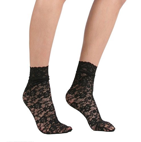 Womens Sexy Lace Ankle Socks
