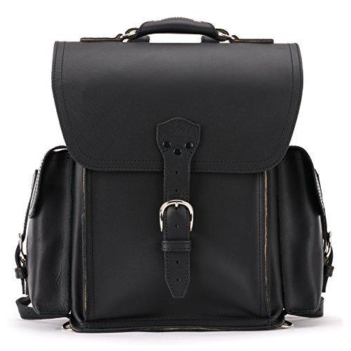 Saddleback Leather Squared Backpack - Best Backpack for School, Business, Travel - 100 Year Warranty by Saddleback Leather Co. (Image #2)