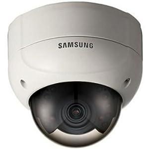"SAMSUNG SCV-2080R Security-camera Analog-camera Fixed Domes 1/3"" High Resolution IR Vandal-Resistant Dome Camera"