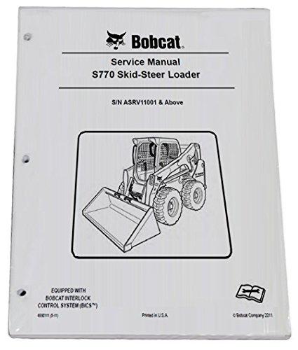 amazon com bobcat s770 skid steer loader repair workshop service rh amazon com Bobcat S850 Bobcat S750