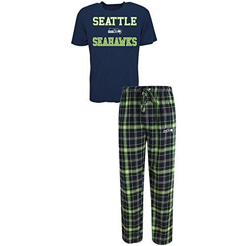 NFL Men's Halftime Sleep Set (Seattle Seahawks Pajama Pants)