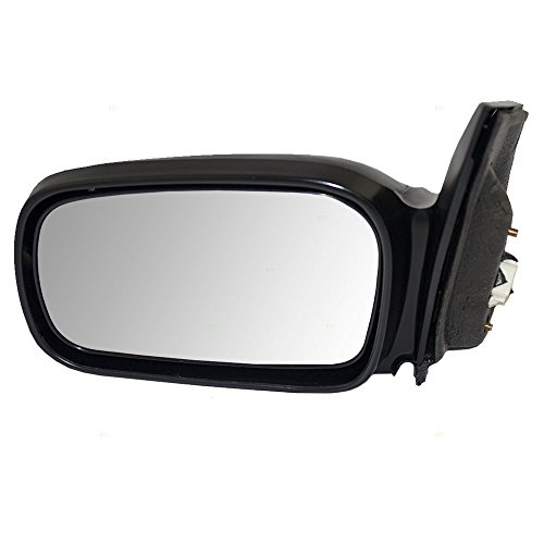Coupe Power Side Mirrors (Drivers Power Side View Mirror Ready-to-Paint Replacement for Honda Coupe 76250-SVA-A11ZD)