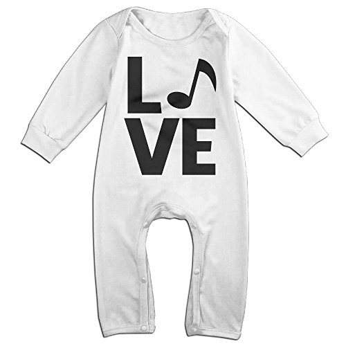 Baby Infant Romper Black Cat Heartbeat Long Sleeve Jumpsuit Costume White 6 M (Welcome Mat Costume)