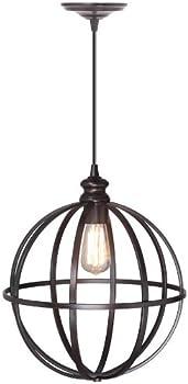 Home Decorators Collection Globe 1-Light Pendant