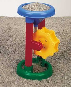 Small World Sand Water Toys Single Sand Wheel 6 Colors May Vary from Small World Toys