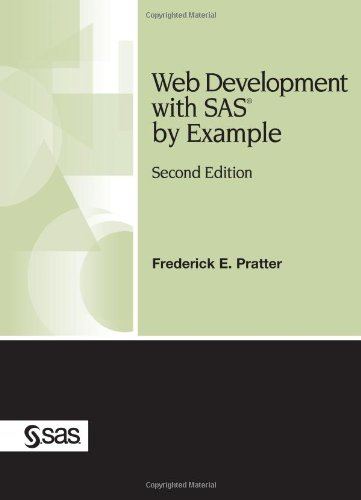 Read Online Web Development With SAS by Example PDF
