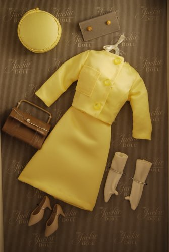 The Jackie Kennedy Doll Vive Jacqui Yellow Suit Dress by Franklin Mint Franklin mo y