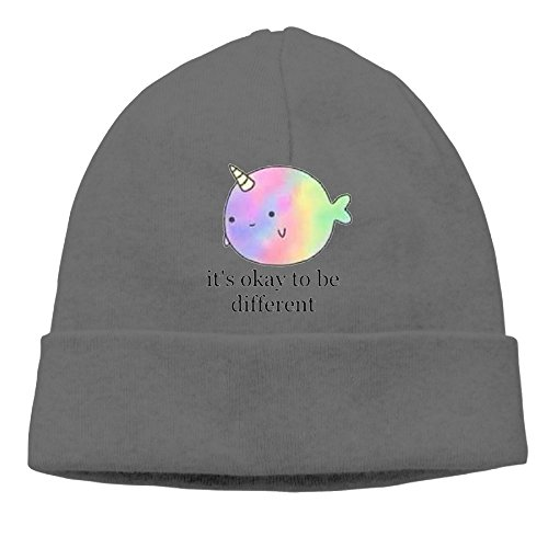 Price comparison product image Winter Narwhal DeepHeather Unisex Warm Cashmere Hat For Women