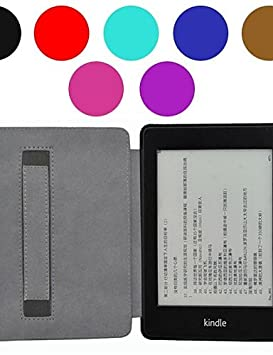 Soporte de mano estilo piel funda para Amazon Kindle Paperwhite 6 ...