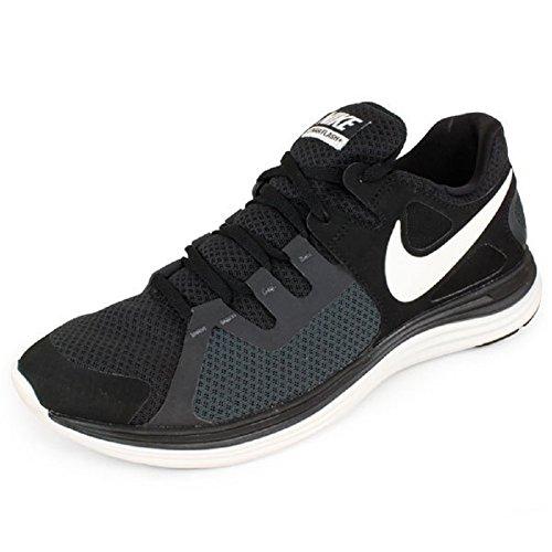 Nike Womens Lunarflash Plus Scarpe Da Corsa 10.5 Nero.