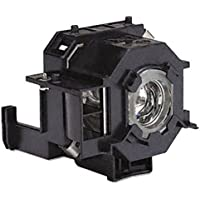 OEM Epson Projector Lamp, Replaces Model PowerLite S6 with Housing