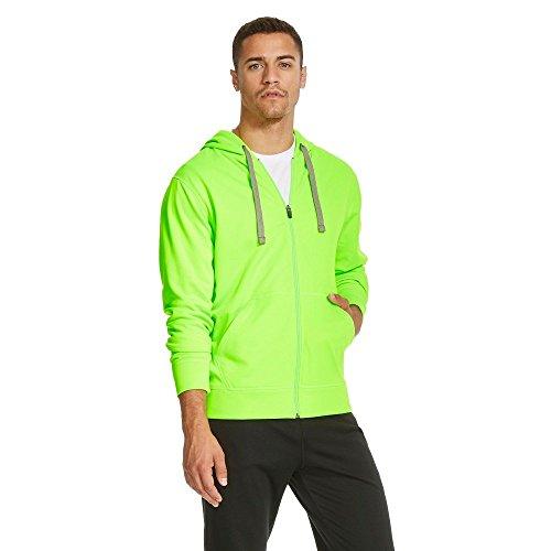 C9 Champion Men's Tech Fleece Full Zip Hoodie Forging Green (Medium, Forging Green)