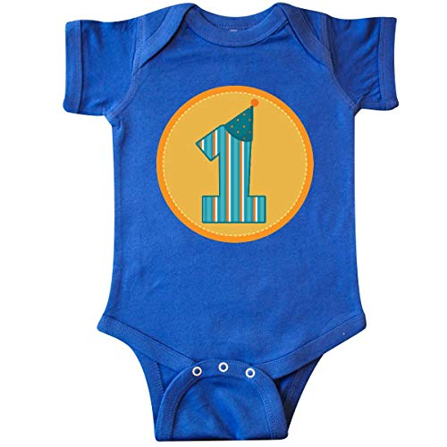 Infant Number Creeper (inktastic - 1st Birthday Number 1 kids Infant Creeper 12 Months Royal Blue f47e)