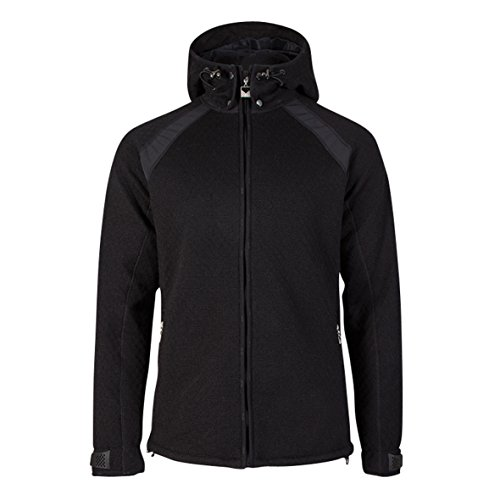 Wool Blend Black Jacket - 8