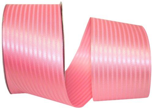 - Reliant Ribbon Tux Stripe Ribbon, 50-Yard, Azalea