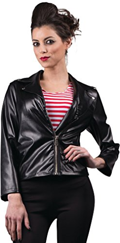 Women's 50s Greaser Faux Leather (50s Biker Girl)