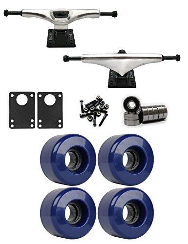 決してプロテスタント自慢コア7.0 Longboard Trucksホイールパッケージ63 mm x 40 mm 83 a 281 Cブルー