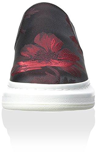 Slip on Di Nero Sneaker Mcqueen Donne Alexander Rosso qqxrSBwd