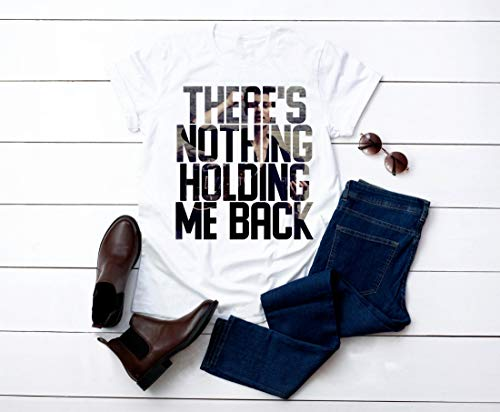 There's Nothing Holding Me Back Unisex Tshirt- Shawn Mendes Shirt-shawn Mendes New Single-shawn Mendes Tee-long Sleeve- Hoodie-tank Top-ts17 (Shawn Mendes Theres Nothing Holding Me Back Single)