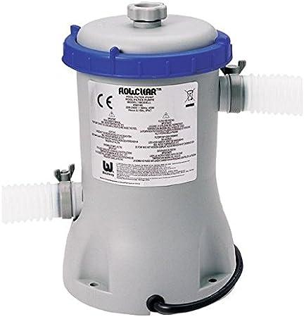 58383 Bomba con filtro para piscina Bestway 2006 lt/h: Amazon.es ...
