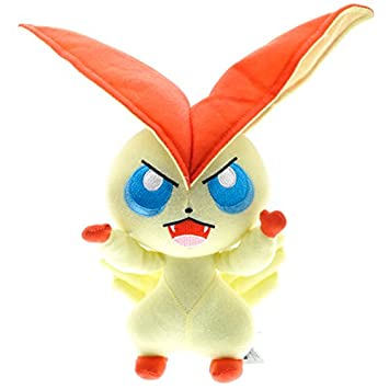 "Pokemon Center Plush Toy 8"" Cute Pocket Monster Victini Soft Stuffed Plush Doll Toys Cute"