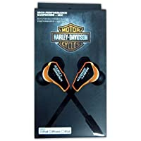 Fuse 7303 Harley Davidson Earbuds with Flat Cable - Orange