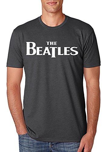 Ka$h Hip Hop The Beatles Rock Band Mens T Shirts (Grey, X-Large) by Ka$h