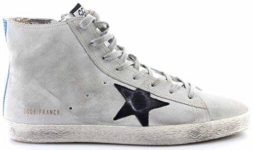 Golden Goose Scarpe Sneakers Uomo Francy Pearl Suede Traffic Light Canoscio New