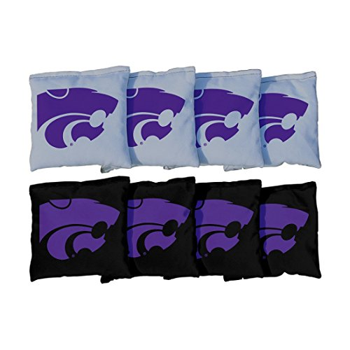 Victory Tailgate 8 Kansas State Wildcats Regulation Cornhole Bags (corn filled)