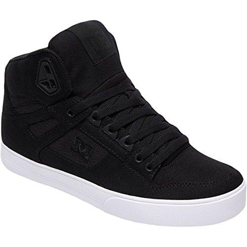 Dc Heren Pure High-top Wc Tx Se Skateschoen Zwart / Zwart / Wit