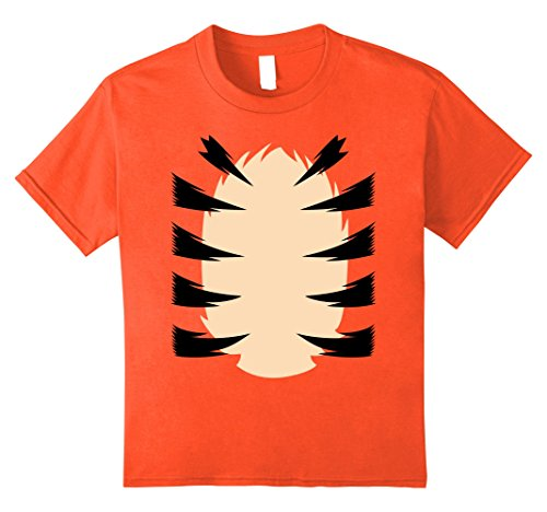 Kids Orange Tiger Costume for Kids DIY Halloween Costume TShirt 10 (1st Halloween Costume Ideas)
