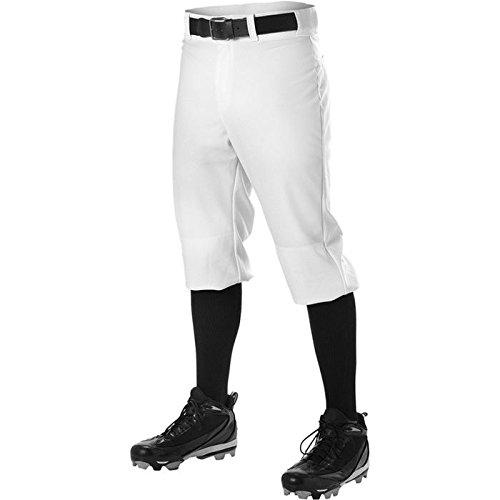 Alleson メンズ ニッカー ベースボールパンツ B00GO34Y7M 2XL|ホワイト ホワイト 2XL