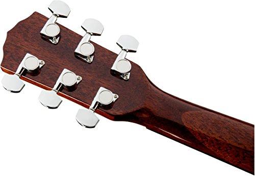 Fender CD60s Dreadnought Acoustic Guitar (Mahagony) 6