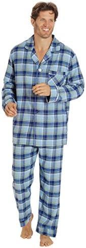 EVERDREAM Sleepwear Flannel Pajamas Cotton