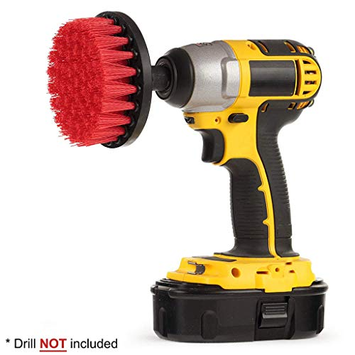 ❤Ywoow❤ Drill Brush, Electric Drill Brush Grout Power