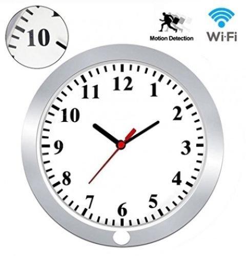 Camaras Espias Ocultas Reloj Wifi Moderno Graba Fotos Y Videosa + Alarma (Camara De Fotos)