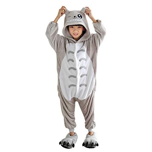 Unisex Children Totoro Pyjamas Halloween Costume 4-5 Years