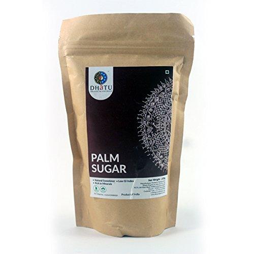 Palma orgánica azúcar puro sabor indio comida india – Cocina rápida, bueno para salud250 g
