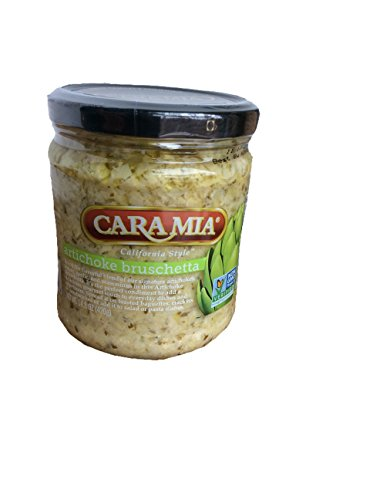 Cara Mia California Style Artichoke Bruschetta, Net Wt 14.8oz, perfect condiment to add a gourmet touch to everyday dishes and ()