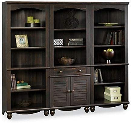 Sauder Harbor View Library Wall Bookcase
