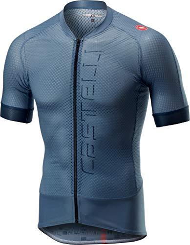 Castelli Climber's 2.0 Full-Zip Jersey - Men's Light Steel Blue, XL