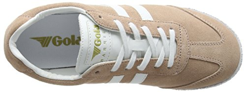 Gola Womens Cla192 Harrier Fashion Sneaker Bush Pink/White K2AK91O