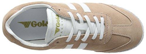 Gola Womens Cla192 Falco Di Bush Sneaker Moda Rosa / Bianco