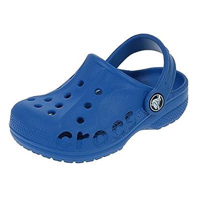 ac90a234c29 Crocs - Baya kid bleu - Sabots - Bleu moyen - Taille 22  Amazon.fr ...