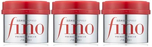 "Shiseido Fino Premium Touch penetration Essence Hair Mask Hair Treatment 230g ""three-piece set."" *AF27*"