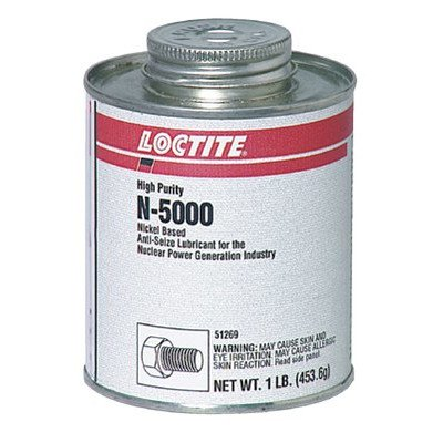 N-5000™ High Purity Anti-Seize - n-5000 1lb w/brush top can nickel anti seize by Loctite