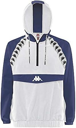 Kappa Hombre Bakit Authentic Jacket, Blanco