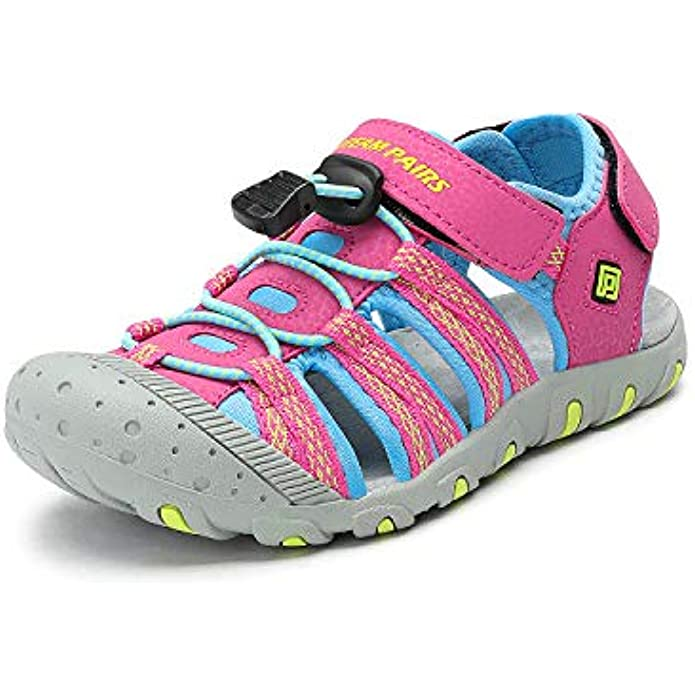 DREAM PAIRS Boys & Girls Toddler/Little Kid/Big Kid Outdoor Summer Sandals